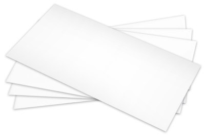 Kuverts DIN lang mit Seidenfutter