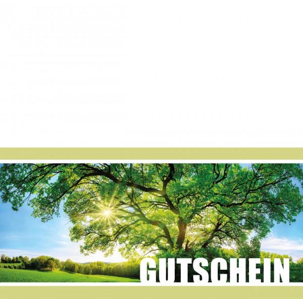 Klappkarte Gutschein M19 - GS01K